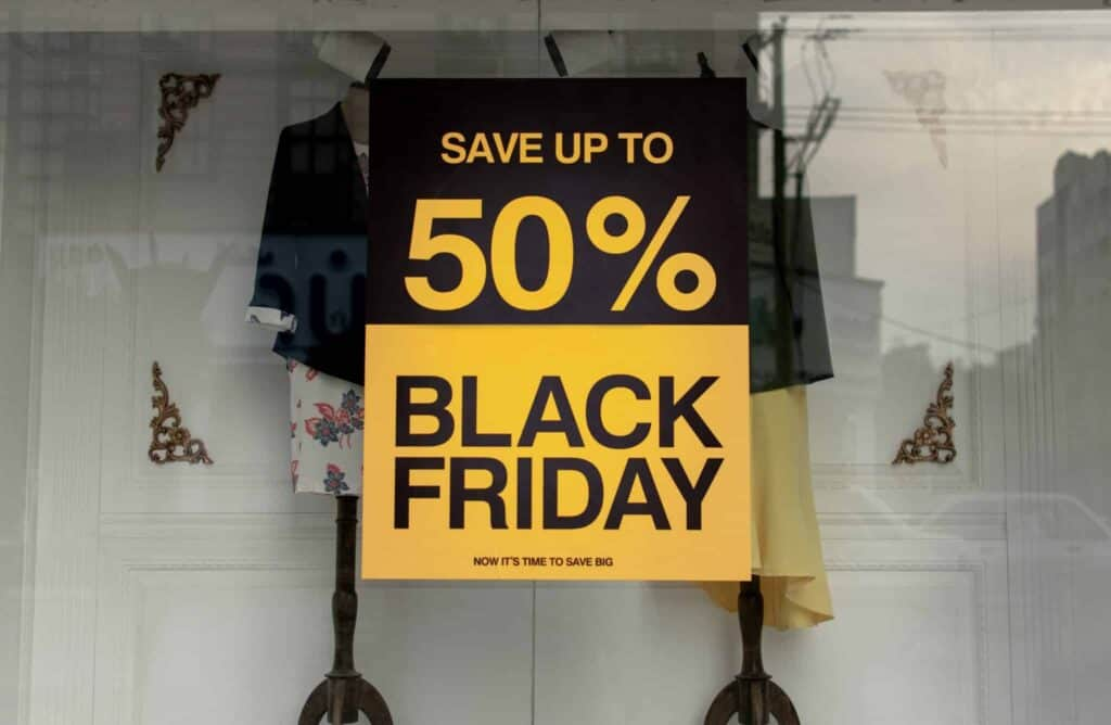 Black Friday Winter Holiday Marketing Calendar creative digital marketing agency nyc