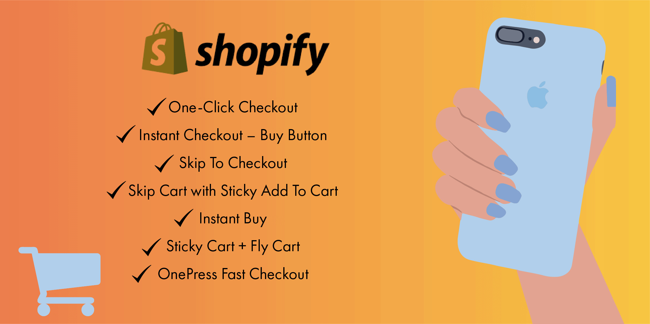 8 Best Fast Checkout Plugins to use for your Shopify store in 2021