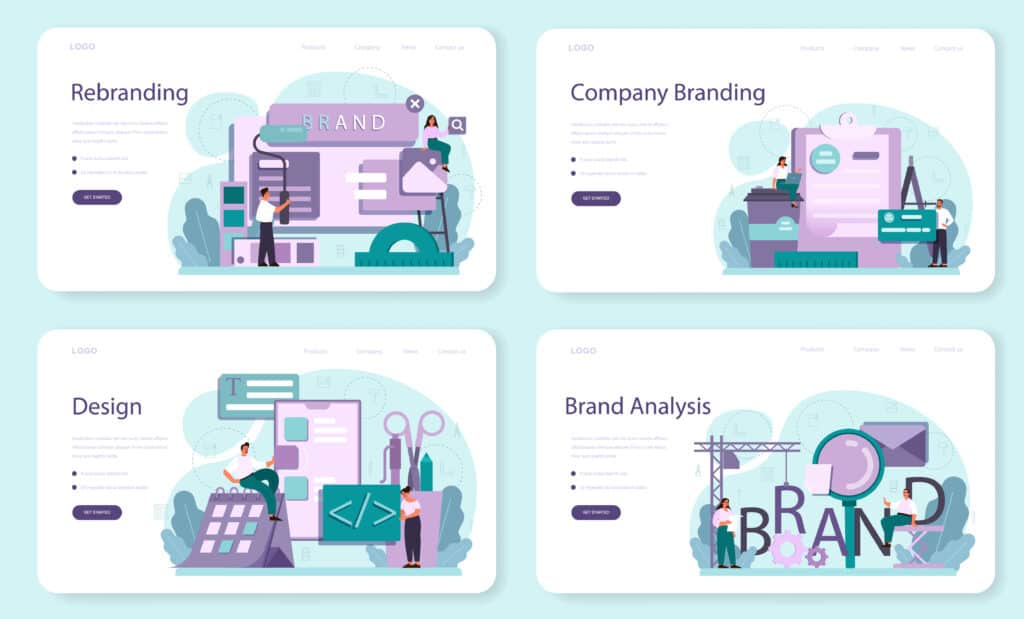 The aspects of a digital rebranding campaign