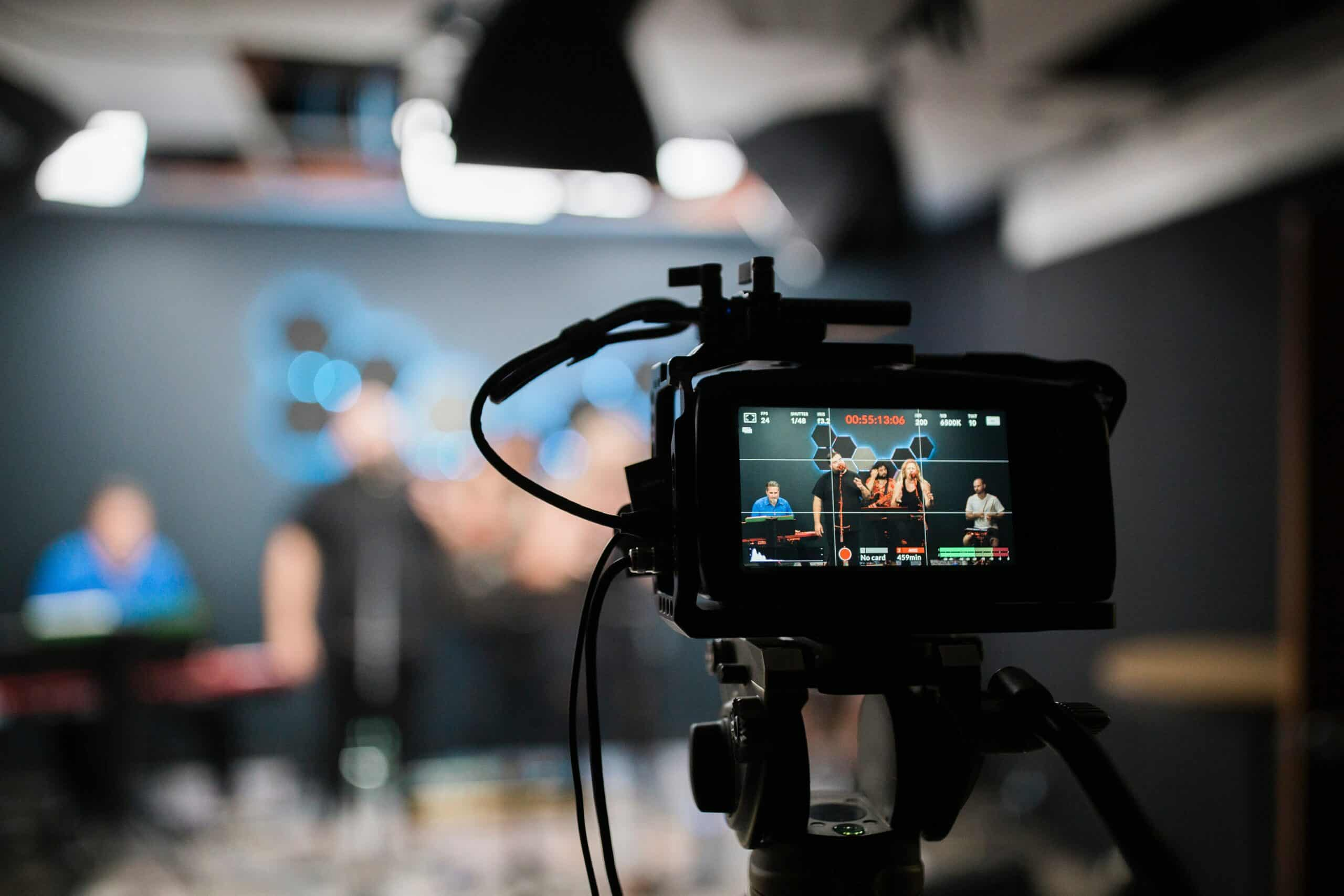 Shooting content for a digital marketing campaign